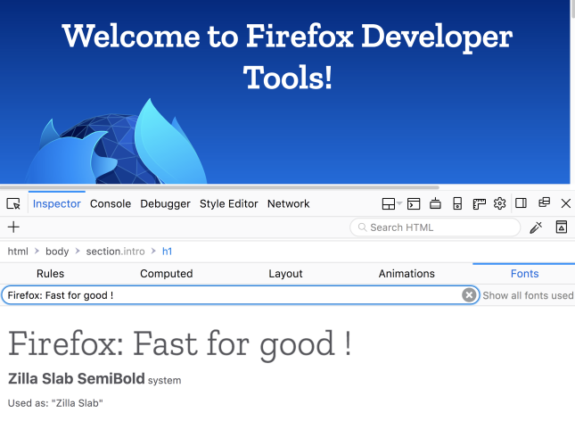 Firefox is ready for the modern dev?